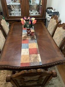 Dining Room Table Set w 8 Chairs amp; China Cabinet $959.99