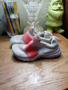 Nike running shoes girls 1y $25.00