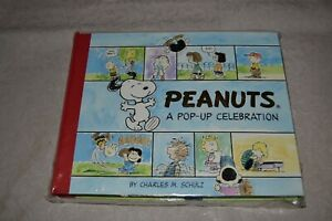 Peanuts A Pop Up Celebration Book by Charles M. Schulz Hardcover 2004 First Ed.
