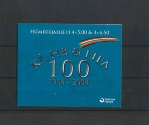 Faroe Islands 2004 FIFA 100 Football Anniversary Booklet MNH per scan GBP 3.99