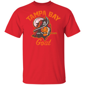 The Tampa Bay Goat Tampa Bay Buccaneers Tom Brady Inspired Unisex T Shirt $22.00