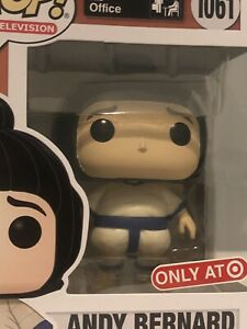 Funko Pop Office Andy Bernard In Sumo Suit 1061 Target Exclusive In Hand Now $18.99