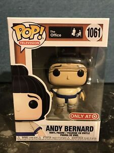 Funko Pop Office Andy Bernard In Sumo Suit 1061 Target Exclusive In Hand Now $13.99