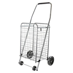 Helping Hand FQ39283 Pop #x27;n Shop™ Folding Cart with Wheels and Handle $32.99