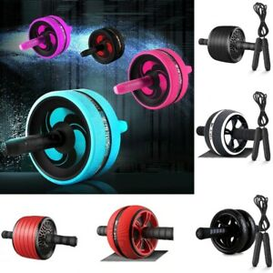 Abdominal Home Gym Exercise Workout Equipment Training Fitness Ab Roller Wheel $22.98