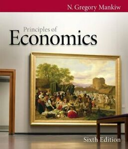 Principles of Economics by Mankiw N. Hardback Book The Fast Free Shipping $9.19
