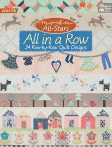 Moda All Stars All in a Row: 24 Row by Row Quilt Designs $9.38