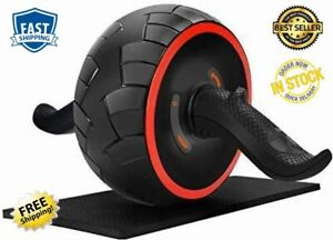 Roller Abs Workout Carver Pro Wheel Abdominal Home Gym Exercise Equipment Steel $36.15