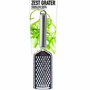 Zest Hand Grater Stainless Steel Lemon Lime Cheese Orange Cooking Utensils $14.41