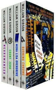 William Gibson Neuromancer Trilogy Collection 4 Books Set Pack Count Zero NEW $42.56