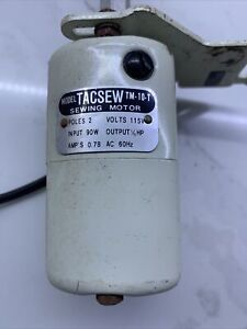 Model TACSEW TM 10 T Sewing Motor 1 16 HP $21.35