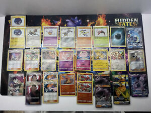 Hidden Fates Shiny Vault Lot All Cards Pack Fresh NM Pokemon Cards PSA Ready $80.00
