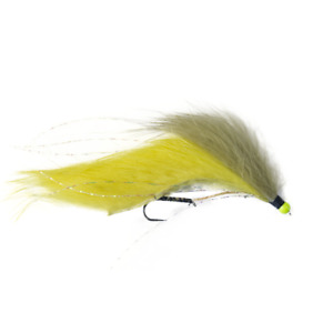 Snake Fishing Flies Dawsons Olive x6 Size 10 Barbless Dragonflies