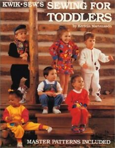 Kwik Sewing for Toddlers by Martensson Kerstin Book The Fast Free Shipping $8.99