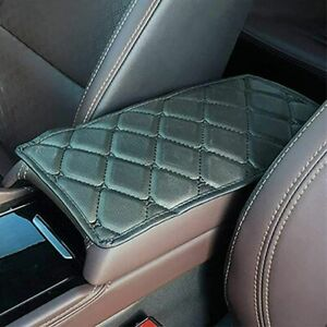 Universal Car PU Leather Armrest Pad Cover Protector SUV Center Console Cushion $5.63