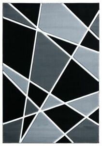 Designer Contemporary Abstract Plush Carved Area Rug **FREE SHIPPING** $199.50
