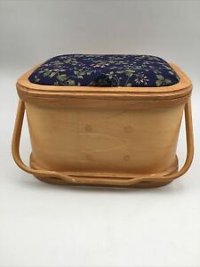 Wooden Sewing Box With Handle 9 x 12 $15.00