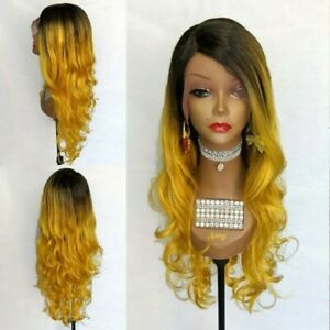 Yellow Ombre Lace Front Wig $37.00