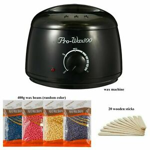 Professional Wax Warmer Heater Hair Removal Depilatory Home Waxing Kit Beans $18.99