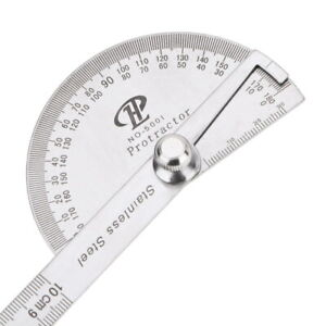 Stainless Steel 180 degree Protractor Angle Finder Rotary Measuring Ruler $9.39