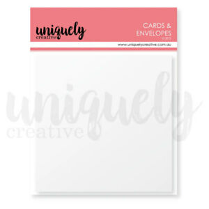 Uniquely Creative Square Cards amp; Envelopes 10pk AU $4.49