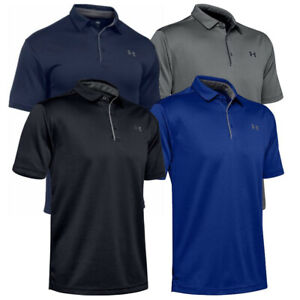 Under Armour Mens UA Tech Performance Golf Polo Tee Loose Fit T Shirt 1290140 $34.77
