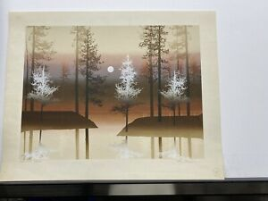Signed and numbered Serigraph.Backwood 299 300 $60.00
