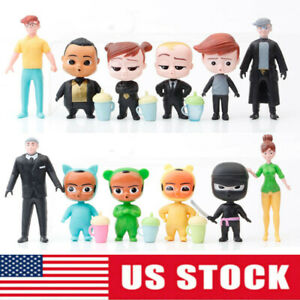 The Boss Baby Boss Baby Tim 12 PCS Action Figure Kids Toy Gift Doll