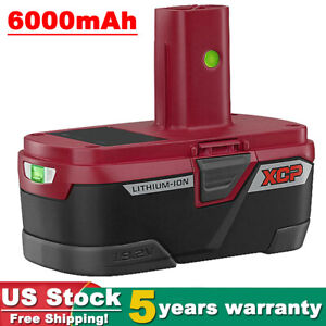 For Craftsman XCP Lithium 19.2 Volt C3 Battery PP2030 6.0AH High Capacity PP2020