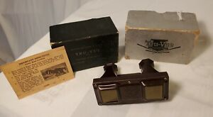 1935 Tru View Viewer In Box Viewer Only With Instructions Nice Find $17.99