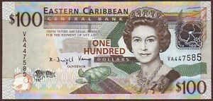 East Caribbean States 100 Dollars ND 2008 UNC $89.00