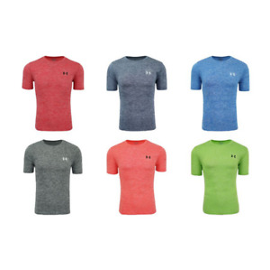 New With Tags Under Armour Men#x27;s Logo Tee Top Athletic Muscle Gym Shirt
