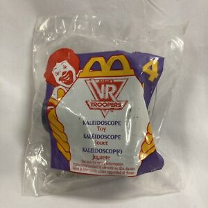 1995 McDonalds VR Troopers Kaleidoscope #4 Vintage Happy Meal Toy NEW NIP