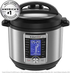 Instant Pot Ultra 3 Qt 10 in 1 Multi Use Programmable Pressure Slow Rice Cooker