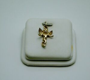 STERLING SILVER ANGLE PENDANT CHARM #FMO894 $11.00