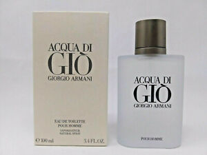 Giorgio Armani Acqua Di Gio 3.4oz 100ml Mens Eau de Toilette New $33.50