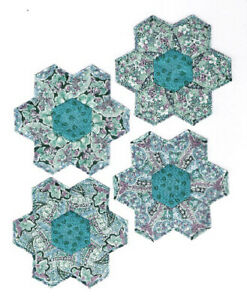 Fabric Kaleidoscope 4 Piece Set Coasters 10 Designs Available