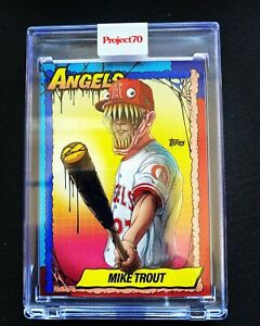 Topps PROJECT 70 Card #79 Mike Trout by Alex Pardee 🔥🔥 Ready To Ship🔥 🔥