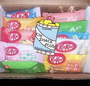 Japanese Kit kat 10 assorted exotic flavors $12.99