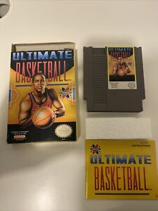 Ultimate Basketball Nintendo Entertainment System 1990 Complete. Great Shape C $70.00