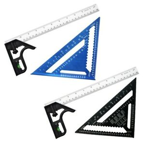 Aluminum Alloy 12quot; Adjustable Combination Square Right Angle Triangle Ruler C $58.66
