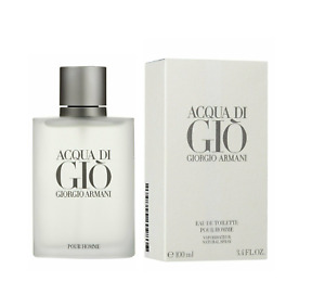 Giorgio Armani Acqua Di Gio 3.4oz Mens Eau de Toilette Brand New Sealed $34.99