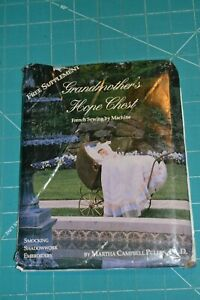 French sewing by machine Martha Pullen Grandmothers Hope Chest baby clothes $20.00