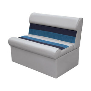 Wise Deluxe 37quot; Pontoon Lounge Boat Marine Fishing Seat sofa