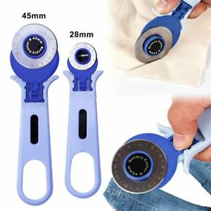 28mm 45mm Rotary Cutter Quilters Sewing Quilting Fabric Cutting Craft Tool LN $9.73