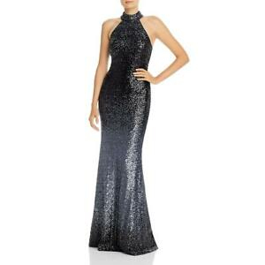 Aqua Womens Sequined Ombre Evening Formal Dress Gown BHFO 6212 $50.39