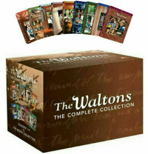 The Waltons Complete Series DVD45 Disc Set Seasons 1 9 amp; 6 Movies Collection $61.99