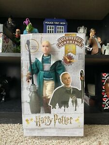 Harry Potter Draco Malfoy Quidditch Action Figure $23.00