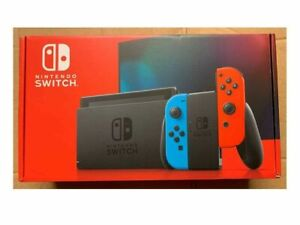Nintendo Switch Console with Neon Blue Red Joy Con Brand New $289.99