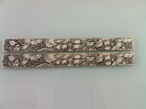 The quot;four Treasuresquot; Silver Plated Silver Ruler quot;shou Taoquot; Paperweight Under Res $15.19